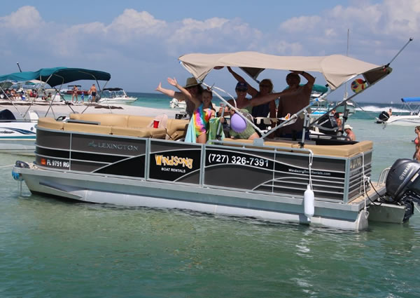 Pontoon and Kayak Rentals