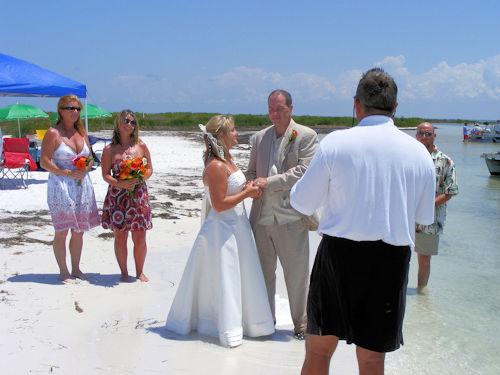 Beach Wedding Recption Clearwater