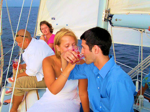 Sailboat Wedding Clearwater